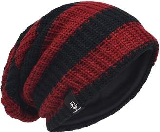 273f0f25d19 at Amazon Canada · HISSHE Men Slouchy Beanie Stripe Knit Winter Skull Cap  CB09