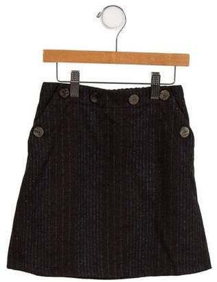 Christian Dior Girls' Wool-Blend Skirt