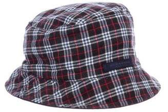 Burberry Reversible Check Hat