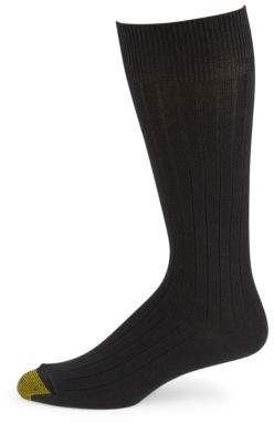 Gold Toe Goldtoe Three-Pack Johnny Ribbed Socks