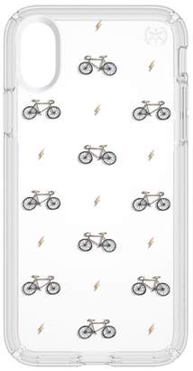 Speck Bikes & Bolts Transparent iPhone X & Xs Case