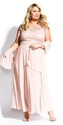City Chic Citychic Elegance Dress Set