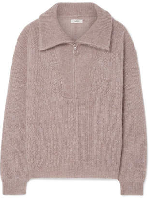 Etoile Isabel Marant Cyclan Oversized Mohair-blend Sweater - Baby pink