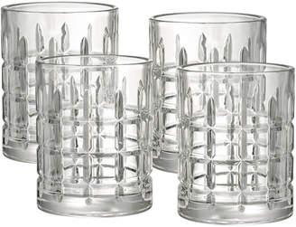 Artland Set Of Four 11Oz Newport Double Old Fashioned Glasses
