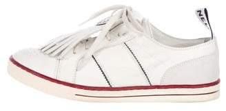 Chanel CC Kiltie Sneakers