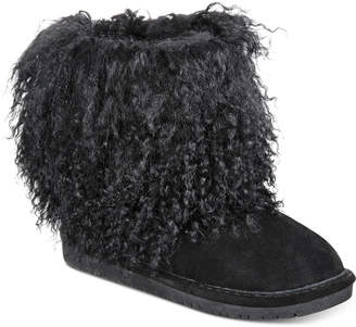 BearPaw Boo Cold Weather Booties Women Shoes