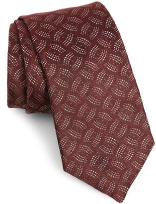 Emporio Armani Medallion Silk Tie