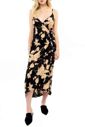 Saltwater Luxe Wrap Midi Dress