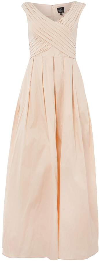 Adrianna Papell Jersey top rouched gown