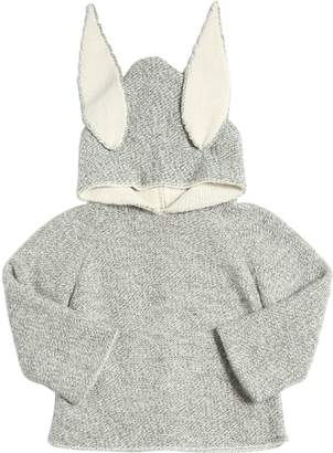 Oeuf Bunny Baby Alpaca Doubled Tricot Sweater