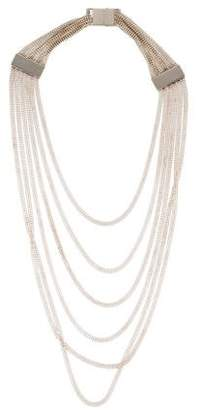 Christofle Multistrand Chain Necklace