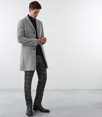 Reiss GABLE WOOL EPSOM OVERCOAT Soft Grey