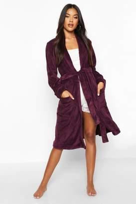 boohoo Soft Fleece Dressing Gown