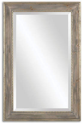 Asstd National Brand Quintina Antique Gold Leaf Rectangle Mirror