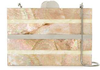 Mother of Pearl Isla clutch