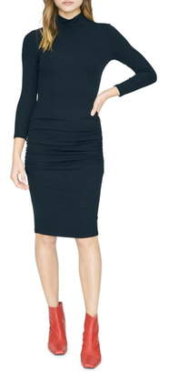 Sanctuary Essential Mock Neck Body-Con Dress