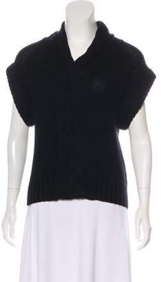 Magaschoni Wool-Cashmere Knit Top