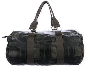 Marc by Marc Jacobs Leather Weekender Duffle Bag