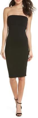 Felicity & Coco Brianna Strapless Knit Body-Con Dress