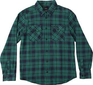 RVCA Men's That'll Work Long Sleeve Flannel