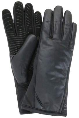 URBAN RESEARCH Tech Faux Fur Lined Heat Pack Gloves