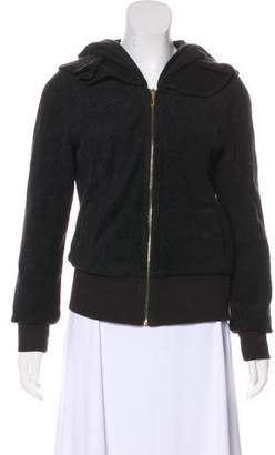 Juicy Couture Hooded Zip-Up Jacket
