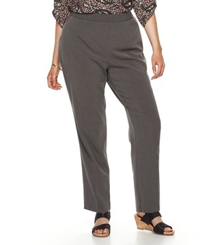 Croft & Barrow Plus Size Polished Pull-On Pants