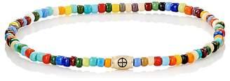 Luis Morais Men's Wheel-Bead Bracelet