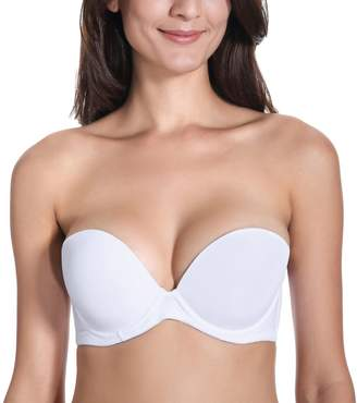 a048173486 at Amazon Canada · Delimira Women s Smooth Demi Cup Seamless Multiway  Strapless Bra