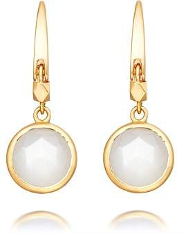 Astley Clarke Mini Moonstone Round Stilla Earrings