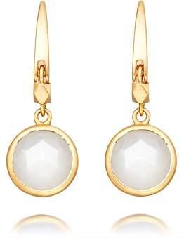 Astley Clarke Mini Moonstone Round Stilla Earrings