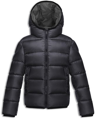 Moncler Boys' Hooded Down Puffer Jacket - Sizes 4-6 $475 thestylecure.com
