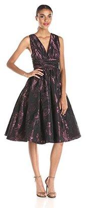 Tracy Reese Women's Crunchy Taffeta Shirred Dress $213.60 thestylecure.com