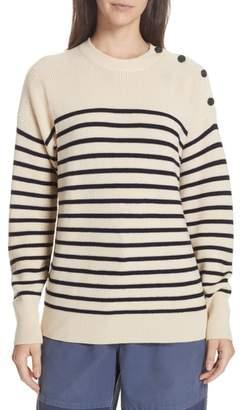 Polo Ralph Lauren Stripe Wool Sweater