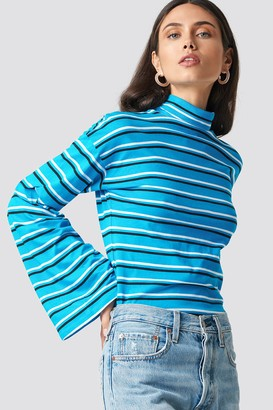 NA-KD Na Kd Wide Sleeve Polo Top