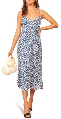 Reformation Dietrich A-Line Sundress