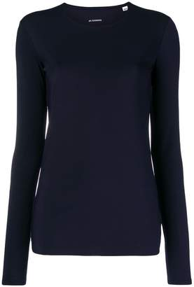 Jil Sander fitted round neck jumper