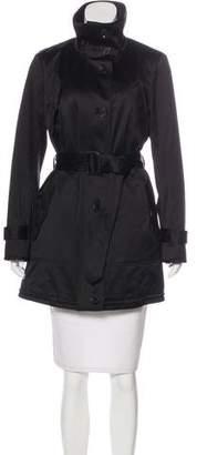 Burberry Nova Check-Lined Knee-Length Trench Coat