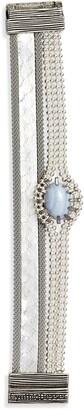 Cynthia Desser Layered Stone & Snakeskin Bracelet