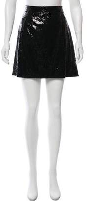 Dolce & Gabbana Sequin Mini Skirt