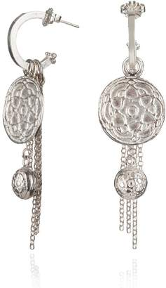 Jamila Maro - Silver Byzantine Earrings