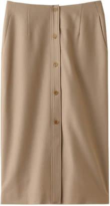 Whim Gazette (ウィム ガゼット) - ウィム ガゼット ロイヤルフラノフロントボタンスカート