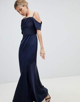 Oasis Occasion Slinky Cowl Neck Maxi Dress