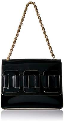 At Orla Kiely Glass Leather Linked Square Bonnie