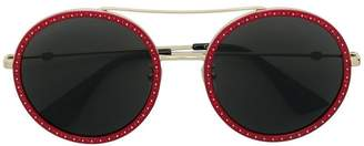 Gucci round oversized sunglasses