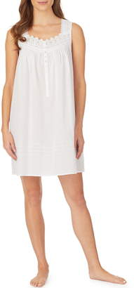 Eileen West Clip Dot Short Nightgown