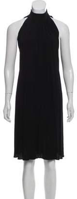 Michael Kors Drape Midi Dress Black Drape Midi Dress