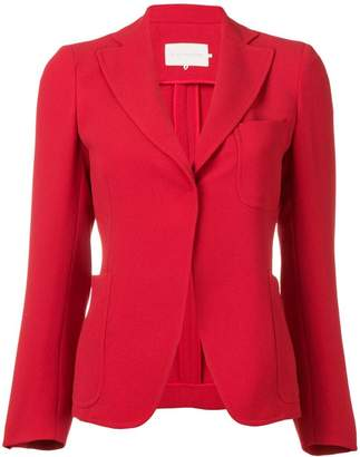 L'Autre Chose fitted button up blazer