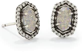 Kendra Scott Cade Stud Earrings in Antique Silver