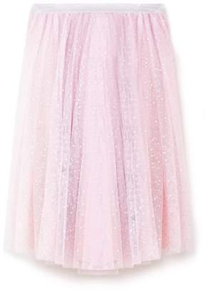 Yumi Girl - Light Pink Star Foil Ballerina Skirt